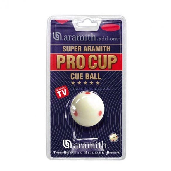 Pool fehér golyó 57,2 mm PRO-CUP normál méretű