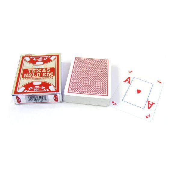 póker kártya VISION, COPAG 100% plasztik silver range (piros hátlappal)