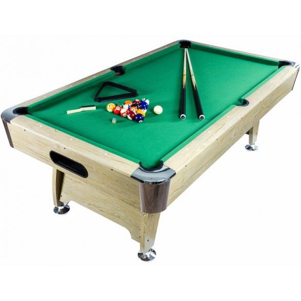 pool biliárd asztal Northstar Newgen. Premium Grande (8') világosbarna/zöld