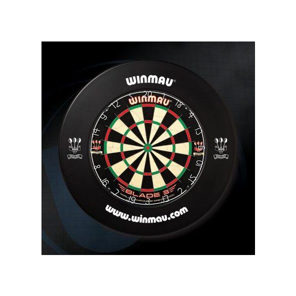 Winmau falvédő dart tábla köré, fekete
