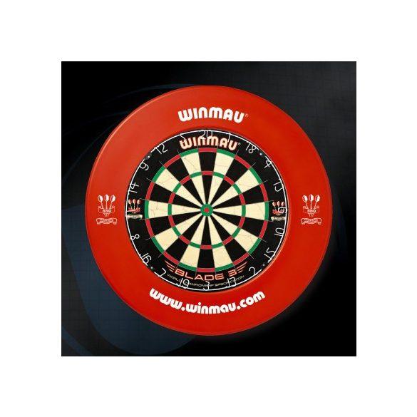 Winmau falvédő dart tábla köré, piros