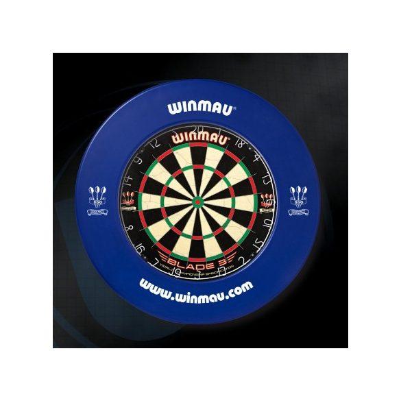 Winmau falvédő dart tábla köré, kék