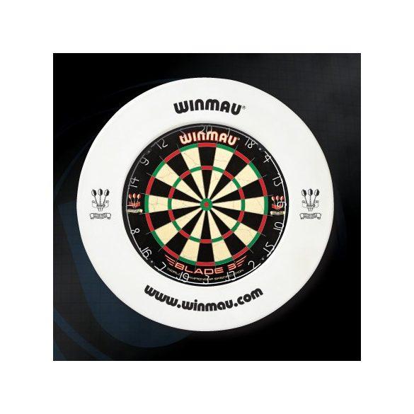 Winmau falvédő dart tábla köré, fehér