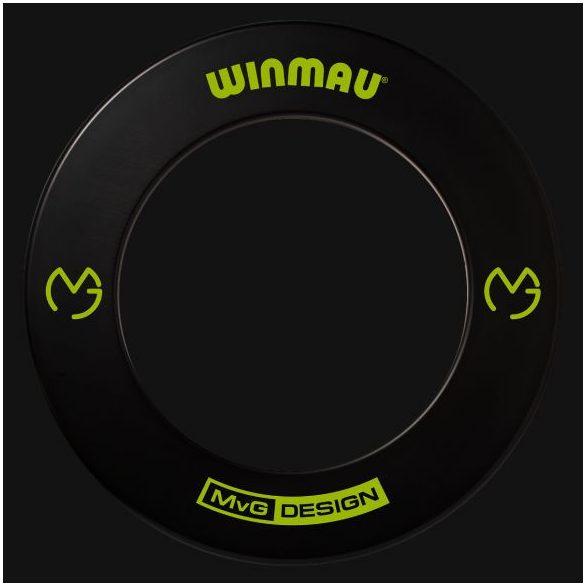 Winmau falvédő dart tábla köré fekete, MvG design