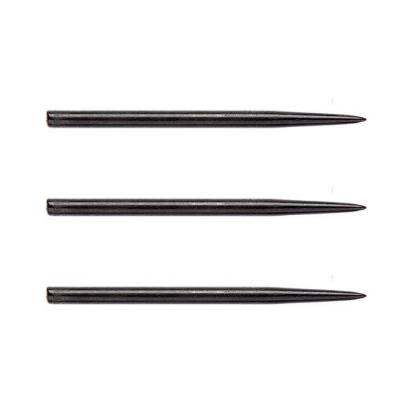 Darthegy STEEL Winmau 41mm extra hosszú fekete 3db/csomag