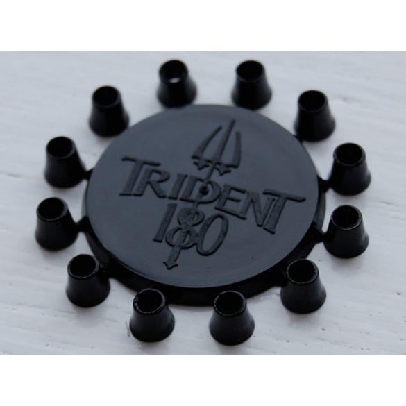 Trident 180, dart gyűrű, fekete