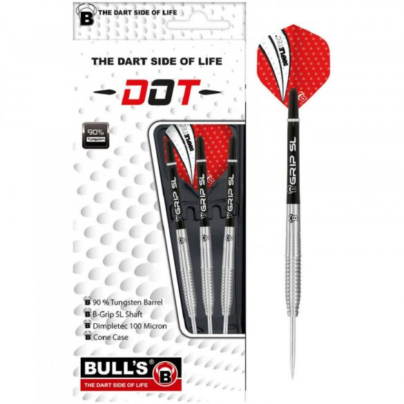 Dart szett Bull's DOT D1 steel 22gr 90%