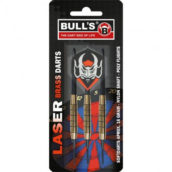 Dart szett Bull's Laser Brass soft 16g