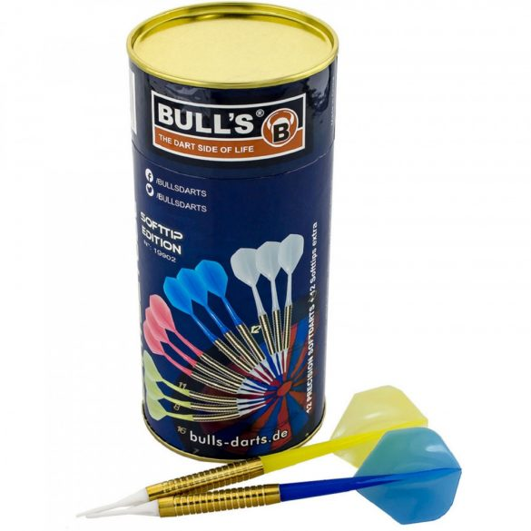 12 darabos darts készlet Bull's, dobozolt  16g