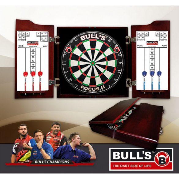 Bull's solid wood darts fakabinet