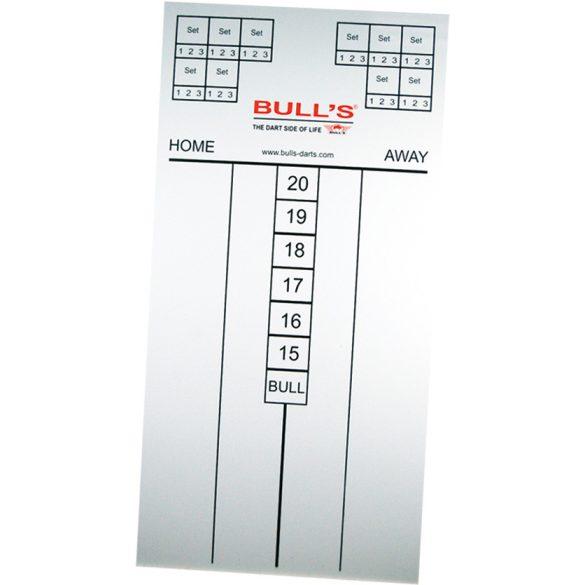 Bull's Darts felíró tábla vékony, filccel