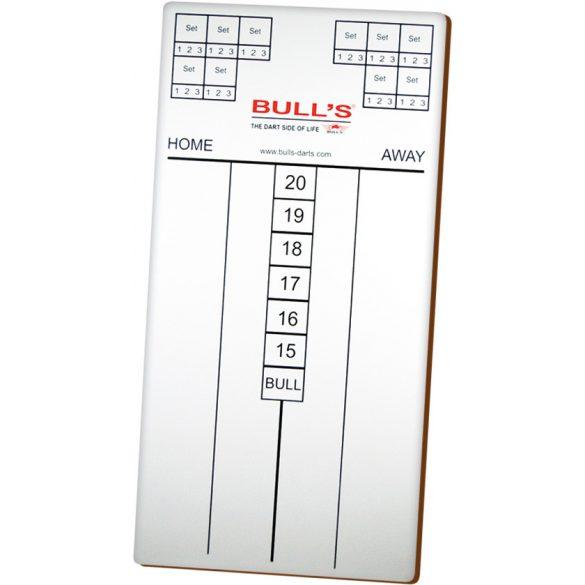 Bull's Darts felíró tábla vastag