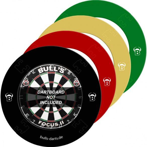 Bull's Darts falvédő 4 részes, vörös színben