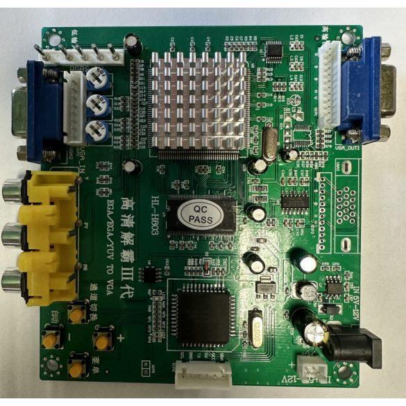 CGA-VGA konverter új típus
