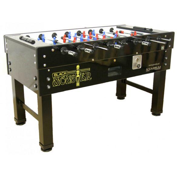 FAS Prostar Black Monster csocsó asztal, nyitott, világítás nélküli, érmevizsgálóval