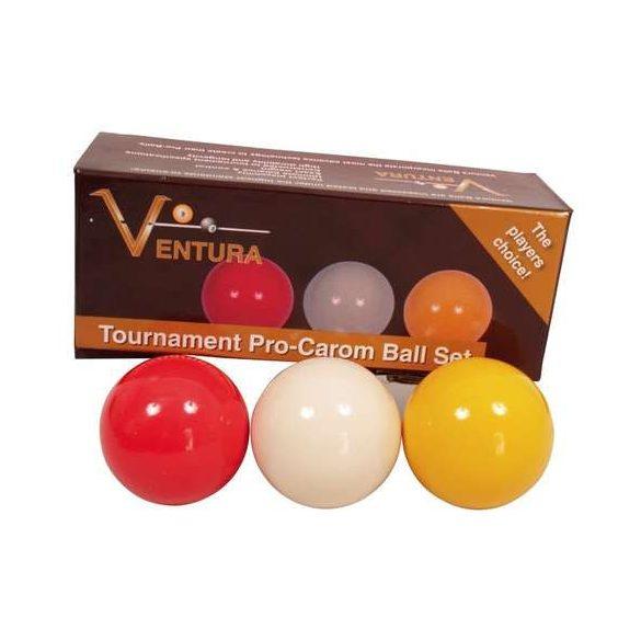 Karambol golyókészlet Ventura 61,5mm tournament colors