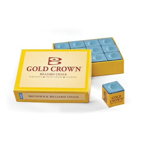 biliárd kréta Brunswick Gold Crown kék 12 db