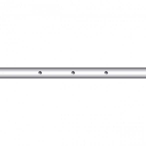 Hármas csocsó rúd, 13 mm-es átmérővel, játékos nélkül, 90 cm-es
