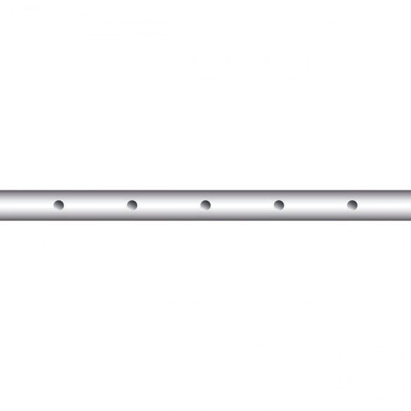 Ötös csocsó rúd, 13 mm-es átmérővel, játékos nélkül, 83,5 cm-es
