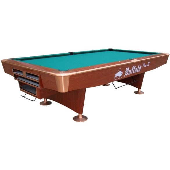 Buffalo  Pro II brown zsebes pool biliárd asztal 9'