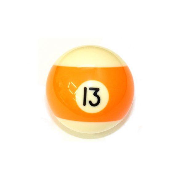 Pool biliárd golyó, 57,2mm 13-as