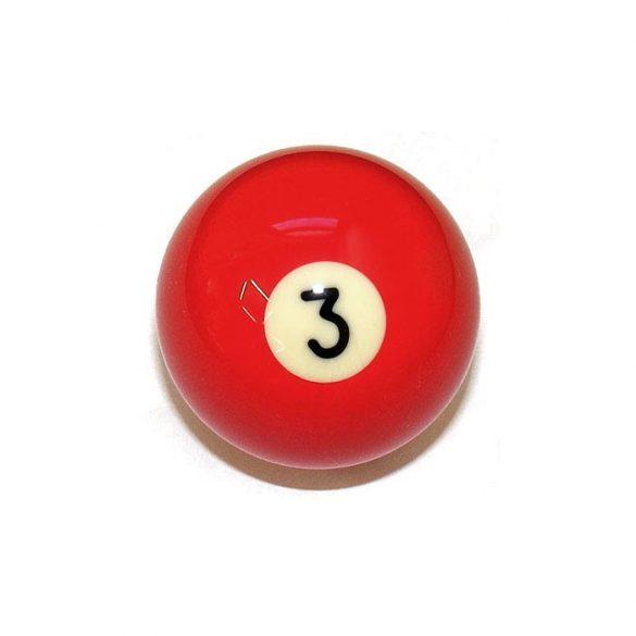 Pool biliárd golyó, 57,2mm 3-as