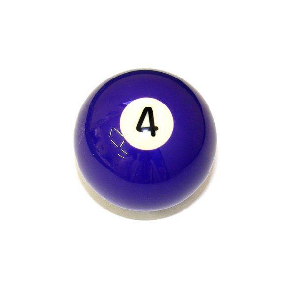 Pool biliárd golyó, 57,2mm 4-es