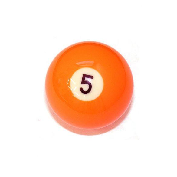 Pool biliárd golyó, 57,2mm 5-ös