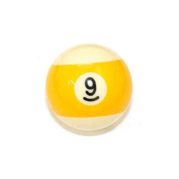 Pool biliárd golyó, 57,2mm 9-es