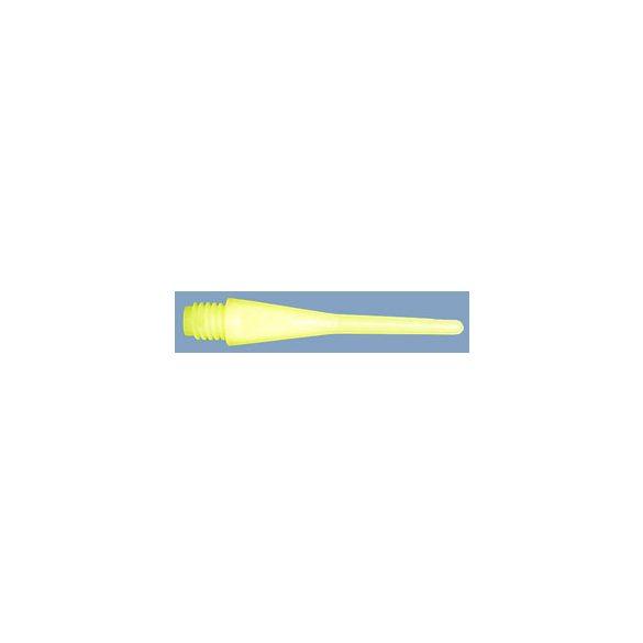 Dart hegy E-Point neonssárga, 2BA standard  menetes, 50db/csom