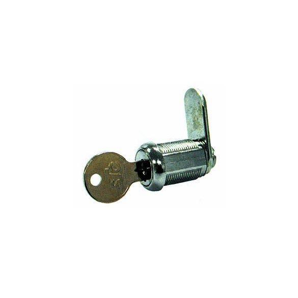 Zár laposkulcsos rövid (17mm)
