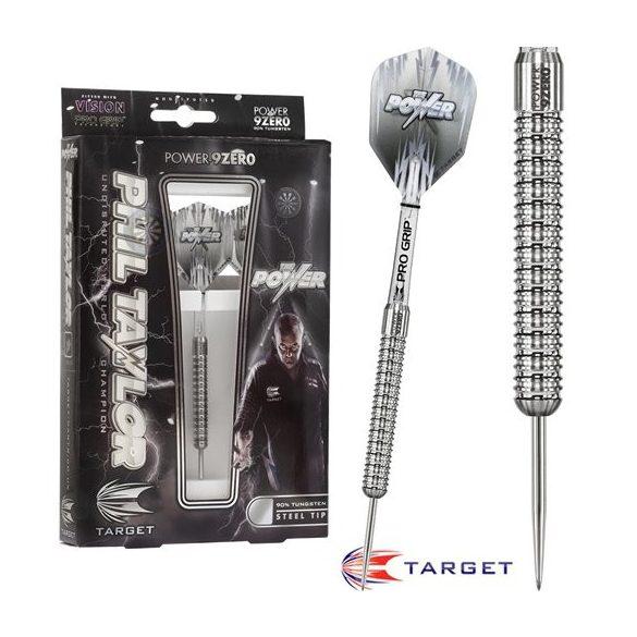 Dart szett TARGET steel POWER 9ZERO 24g Phil Taylor