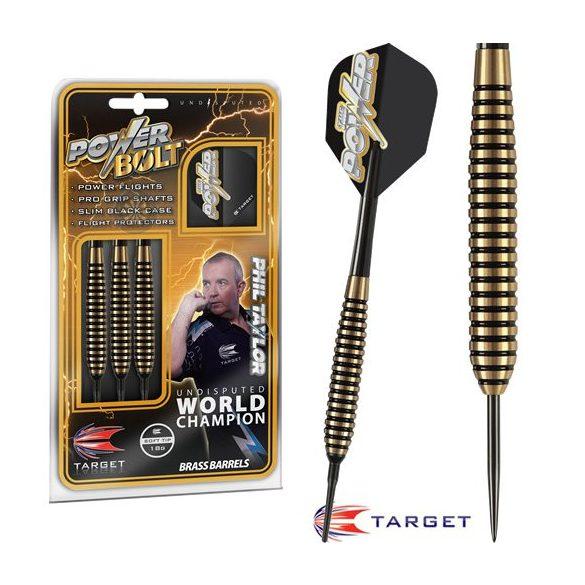 Dart szett TARGET steel POWER Bolt 24g - Phil Taylor